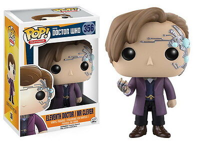 DOCTOR WHO POP Vinyl Figur 11th DOCTOR (Mr. Clever) 10cm NEU+OVP Funko