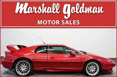 2000 Lotus Esprit  2000 Lotus Esprit Inferno Red with Magnolia v8 twin turbo with 13100 miles