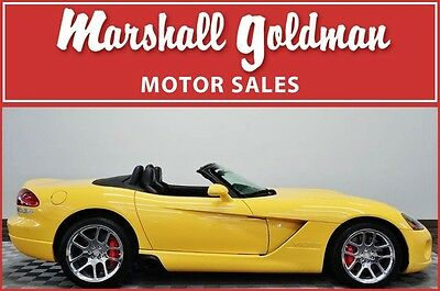 2005 Dodge Viper  2005 Dodge Viper roadster viper race yellow with black only 2700 miles