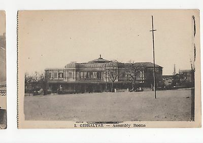 Gibraltar, Assembly Rooms Postcard, A417