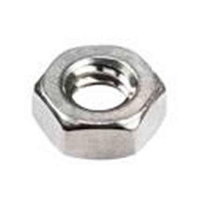Stainless Steel Hex Machine Screw Nuts #10-24, QTY-100