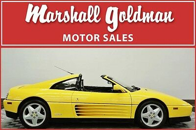 1992 Ferrari 348  1992 Ferrari 348TS in Giallo Ferrari 15,800 original miles. 5 speed