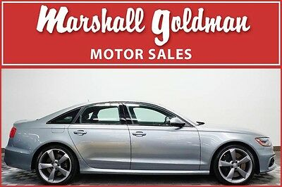 2015 Audi S6  2015 Audi S6 Quartz Grey with Black 420HP and only 10,100 miles