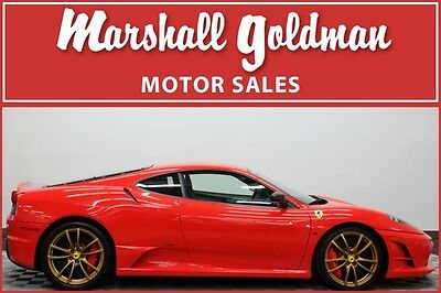 2008 Ferrari 430 Scuderia 2008 Ferrari F430 Scuderia rosso scuderia with black stripes only 396 miles