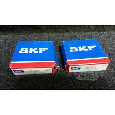 Lot of 2 SKF 6206-2RS1/C3 Deep Groove Ball Bearings, 30mm Bore, 62mm OD, 16mm D