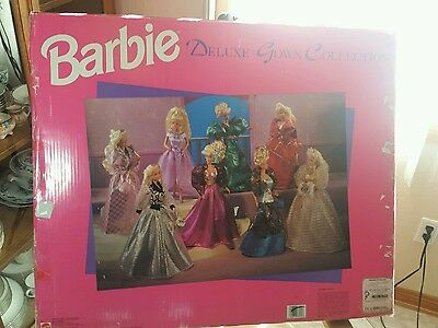 Barbie Deluxe Gown Fashion Collection 8 Evening Gowns Retired 1995