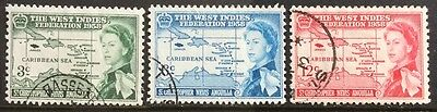 St.Christopher,Nevis & Angulla 1958 British Caribbean Fed SG120/2 Fine Used