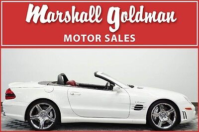 2008 Mercedes-Benz SL-Class SL65 AMG 2008 Mercedes Benz SL65 Alabaster White with red pano roof 19900 miles