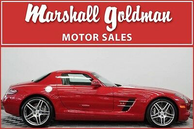 2011 Mercedes-Benz SLS AMG  2011 Mercedes Benz SLS AMG Lemans Red Metallic only 704 miles Bang and Olufsen