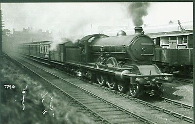 LNER C7 Class 4-4-2 No. 705. Real Photographs Broadstairs photo