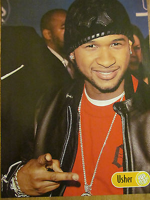 Usher, Ciara, Double Full Page Pinup