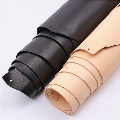 Natural Leather Sheet Genuine Cow Leather-craft Piece  Choice DIY