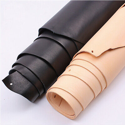 [PF] Natural Leather Piece Real Cowhide Craft Piece 1.5 Mm Thick Choice Diy