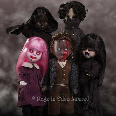*DON'T TURN OUT THE LIGHTS* Living Dead Dolls 31 Complete 5 Doll Set (27cm)