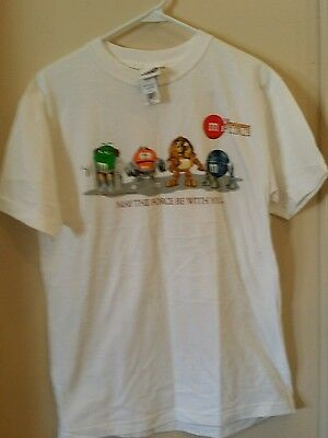 M&M's Mpire Adult T-Shirt, Med. 100% Cotton, New With Tags M&M