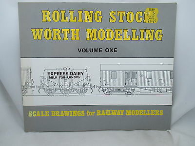 ROLLING STOCK WORTH MODELLING Vol. 1 SCALE DRAWINGS FOR MODELLERS