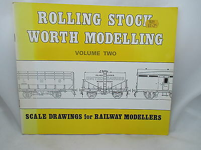 ROLLING STOCK WORTH MODELLING Vol. 2 SCALE DRAWINGS FOR RAILWAY MODELLERS