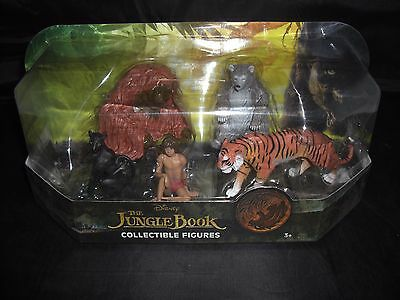 Disney The Jungle Book Collectible Figures-5 Pack