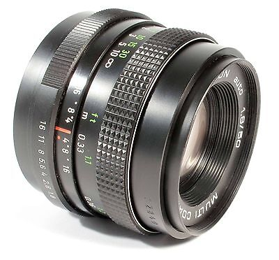 Pentacon 50mm f1.8 Standard Lens -M42 fit - Useful - Can be used on DSLR