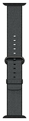 New Apple MM9Y2AM/A Watch 42mm Woven Nylon Band, Black