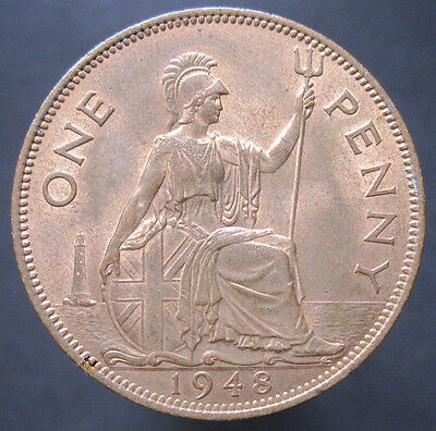 1948 GB George VI Penny (with Lustre) S.4114 (P6)