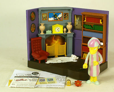 Playmates World Of Springfield The Simpsons WOS  Burns Manor
