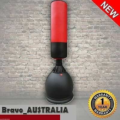 Home Gym Punching Free Standing Bag Dummy Target Martial Arts Boxing Stand 160cm