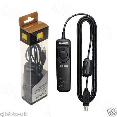MC-DC2 Wired Remote Control Shutter Release for Nikon D3400 D5600 D610 D7200
