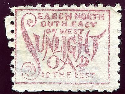 1882/1900 - NEW ZEALAND - 2d LILAC WITH BROWN-RED NORTH-SOUTH SOAP, USED