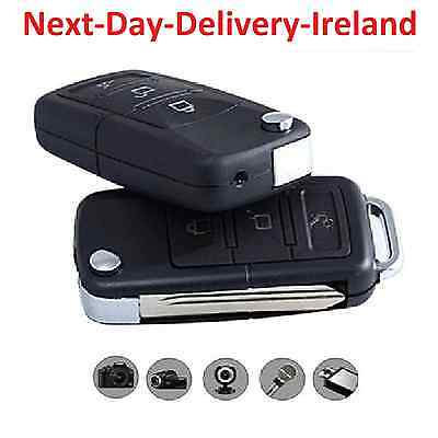 Mini USB Car Key Fob Remote Spy Hidden Camera Voice Wireless Video Recorder DVR