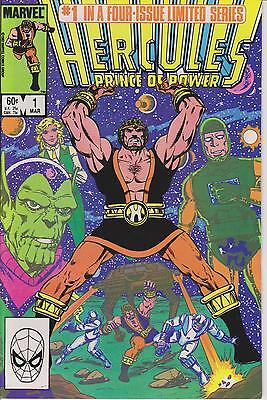 HERCULES PRINCE OF POWER #1 of 4 ISSUE SERIES - 1984 Signed by Artist Bob Layton
