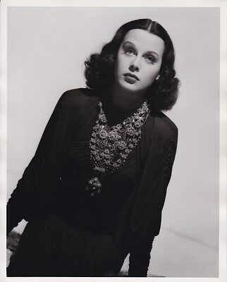 HEDY LAMARR Beautiful Original Vintage 1940 WILLINGER MGM DBW Portrait Photo
