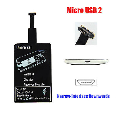 Universal QI Wireless Charging Receiver Charger Module For Micro USB Cell Phones