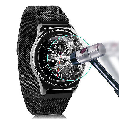 Wrist Watch Tempered Glass Guard Film Screen Protector for Samsung Gear S3