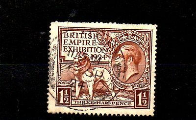 Stamp From Great Britain Dated 1924.