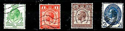 Stamps From Great Britain Dated 1929.