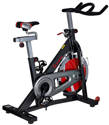 Sunny Health & Fitness Heavy Duty Indoor Cycling Stationary Cycle Exercise Bike
