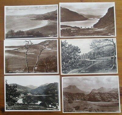 Six Early Real Photographic Postcards  Gairloch Scotland