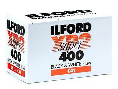 Ilford XP2 Super 35mm 36 Exposure B&W Film