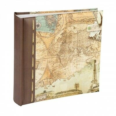 "Kenro Holiday Series Old World Map Design Album for 200 6x4"" Photos"