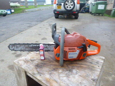 "Husqvarna 350 logging chainsaw 15"" bar chain saw stihl oil"