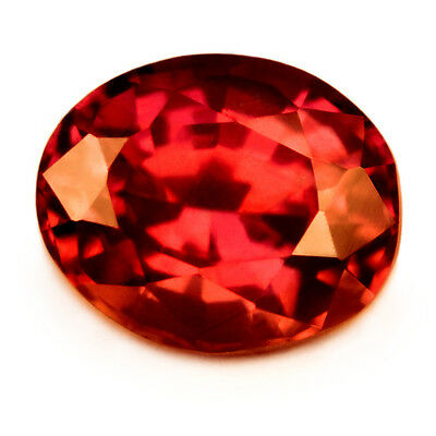 Certified Natural Untreated Unheated Royal Red Ruby 0.76ct Flawless Oval