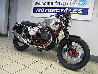 Moto Guzzi V7 Cafe Racer Damage Repair Running Project Low Miles