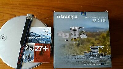 Trangia 25-2 UL complete cooking system with Kettle