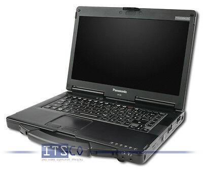 NOTEBOOK PANASONIC TOUGHBOOK CF-53 CORE i5-3320M 2x 2.6GHz 4GB RAM 500GB HDD
