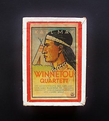 WINNETOU QUARTETT Karl May Verlag Radebeul Nr.501/13