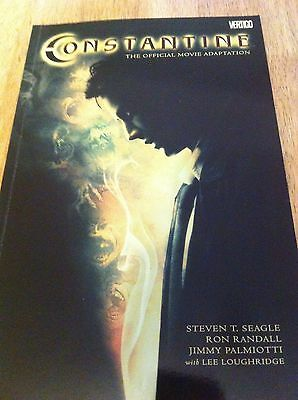 Constantine Official Movie Adaptation Graphic Novel