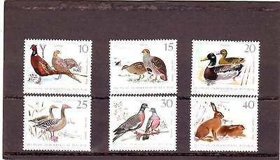 a101- GERMANY - SGE1077-E1082 MNH 1968 SMALL GAME