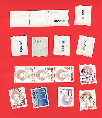 Numbered coil stamps.used (#W98)