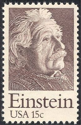USA 1979 Albert Einstein/Scientists/Physics/Science/People/Space 1v (n43422)